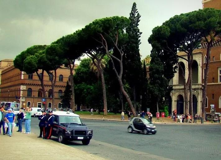 kradzieże we Włoszech