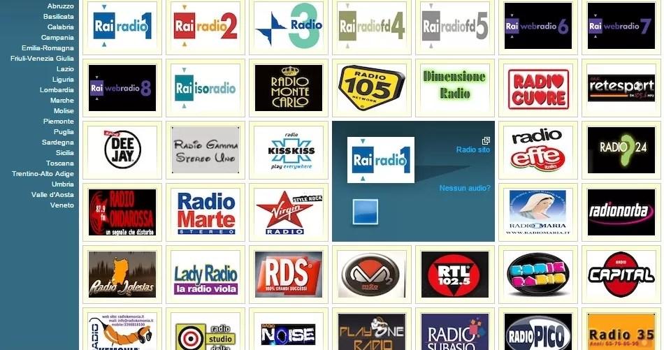 włoskie radio, włoska telewizja, gdzie oglądać programy po włosku