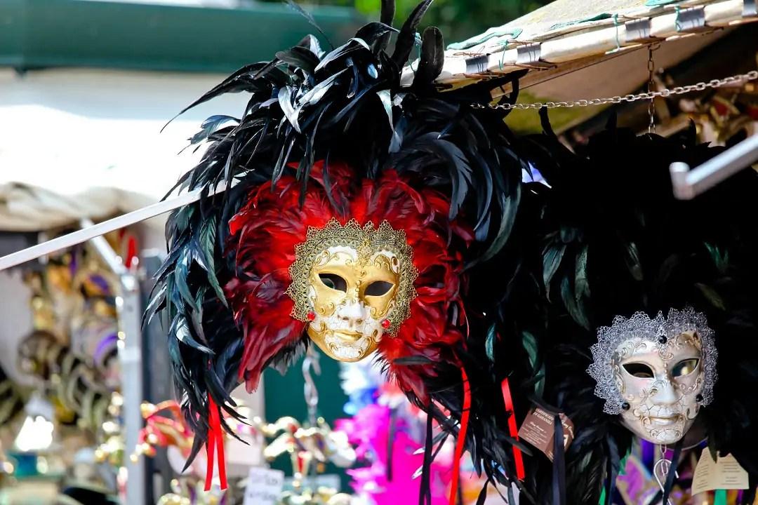 karnawał, maski weneckie, maska karnawałowa