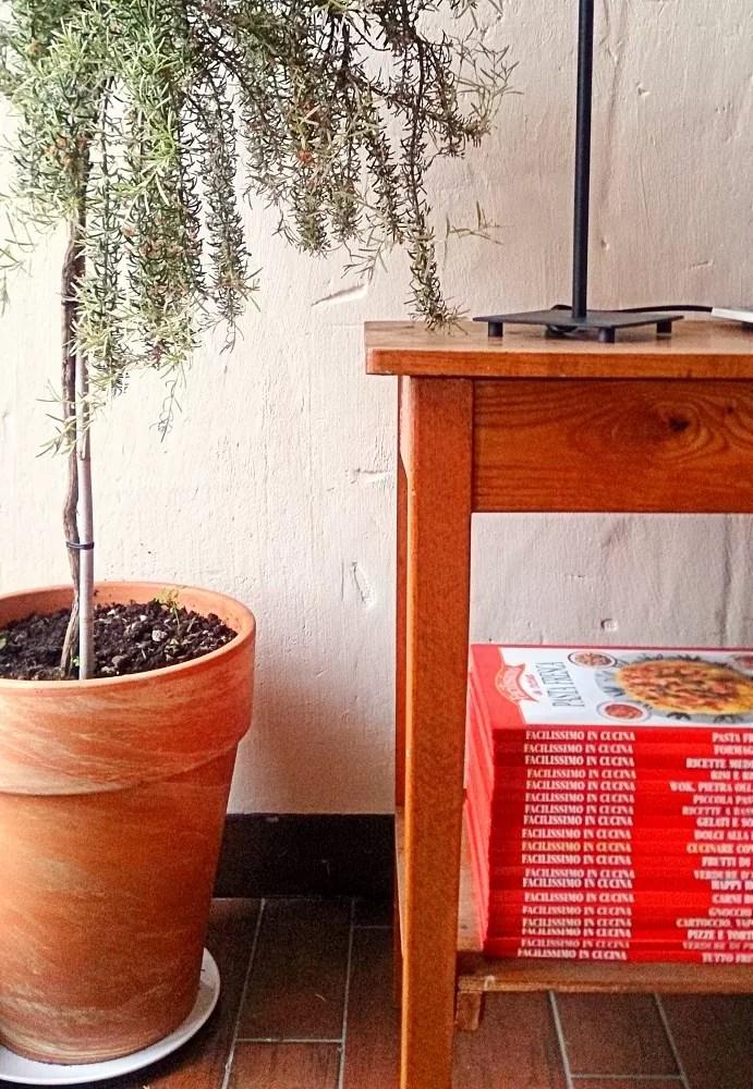 villa toscana - czytelnia