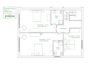 holiday house´s plan