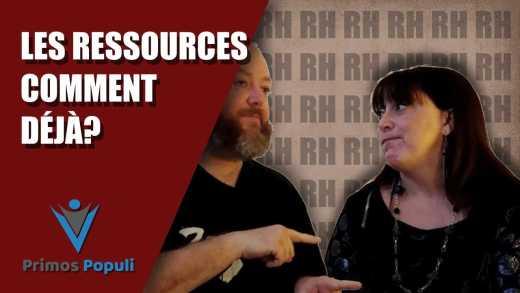 Les ressources comment déjà?