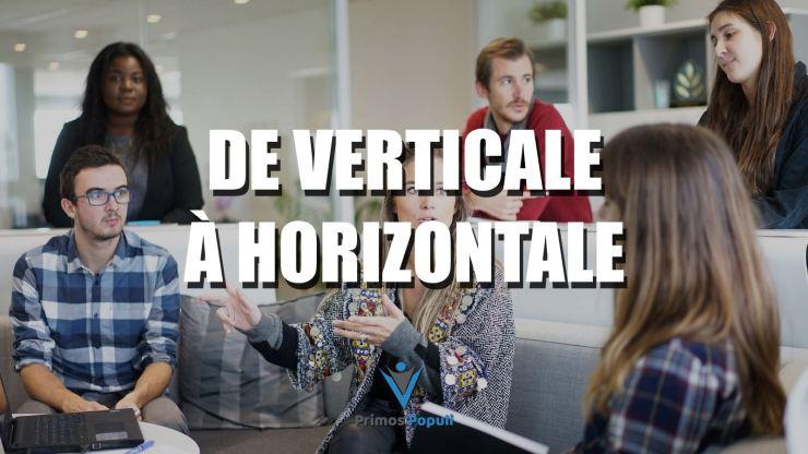 De verticale à horizontale
