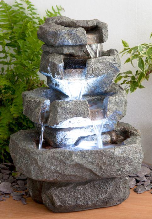fontaine d interieur shubunkin a led zen et relaxation