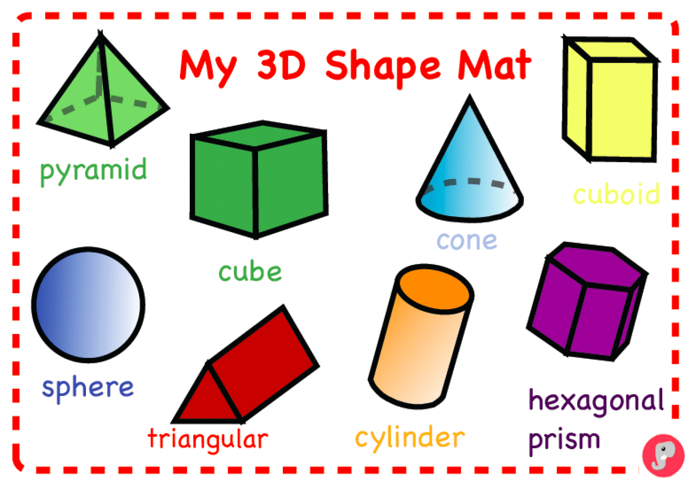 3d Shapes And Junk Modelling Materials