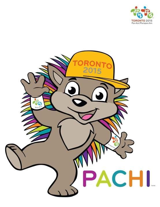 TORONTO 2015 PAN/PARAPAN AMERICAN GAMES - TORONTO 2015 Mascot