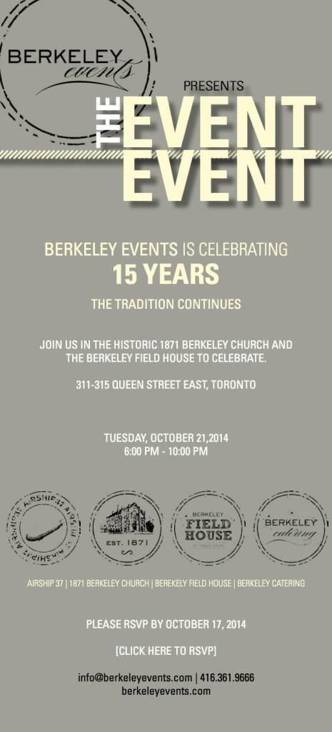 Berkeley Church 15 Years