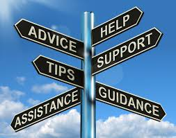 Advice Assistance Guidance Help Support