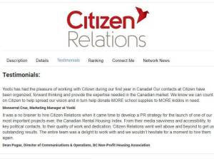 Citizen Relations