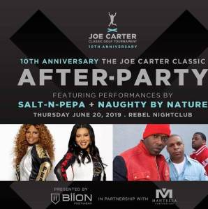 Joe Carter Classic After Party
