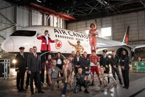 Air Canada-Air Canada and Cirque du Soleil announce internationa