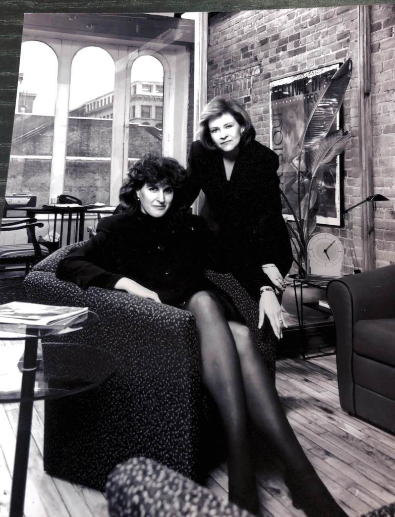 Carol Levine and Esther Buchsbaum