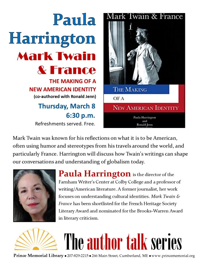Author Talk Paula Harrington