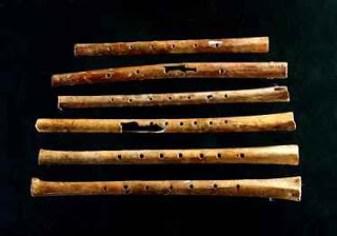Old Cave Bone Flute