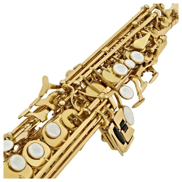 Fugue F86g Intermediate Gold Soprano Saxophone