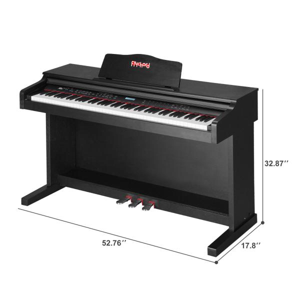 FLychord Digital Piano DP420 Newest 2020 Model