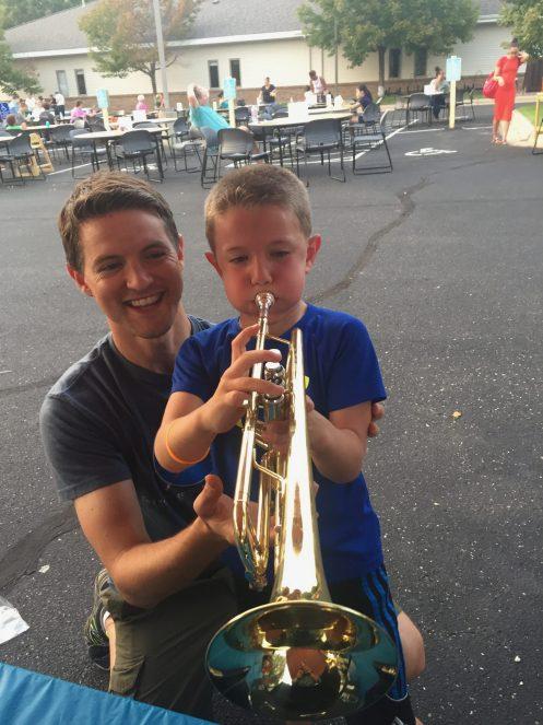Opal student trumpet