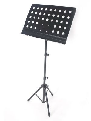 Adjustable iron music stand