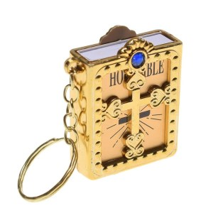 Holy Bible keychain
