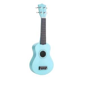 """Kids 21"""" colorful ukulele teal color"""