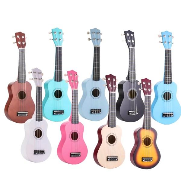 """Kids 21"""" colorful ukulele"""