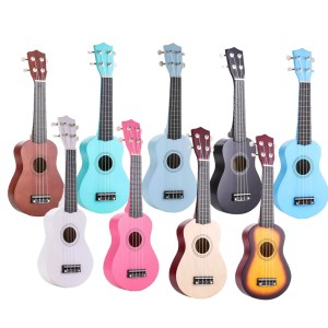 "Kids 21"" colorful ukulele"