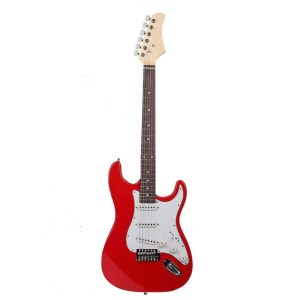 Gephardt Solid Red Ground Series Electric Guitar