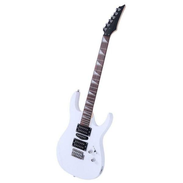 Mars Guitar White Light WElectric Guitar