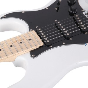 Gephardt matrix electric guitar white