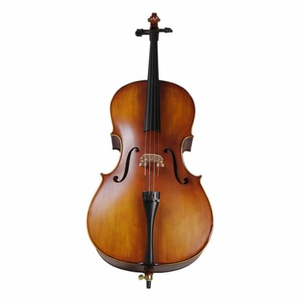 Strumenti a Corde Cello Solid Hand Carved Cello 4/4