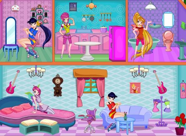 Doll House Decoration Game Screenshot
