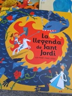 libro la leyenda de Sant Jordi