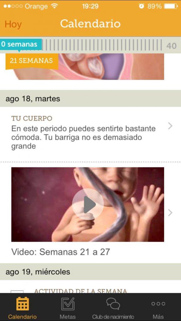 81a8d511c App  Mi embarazo día a día (My pregnancy) de Babycenter - Princess ...