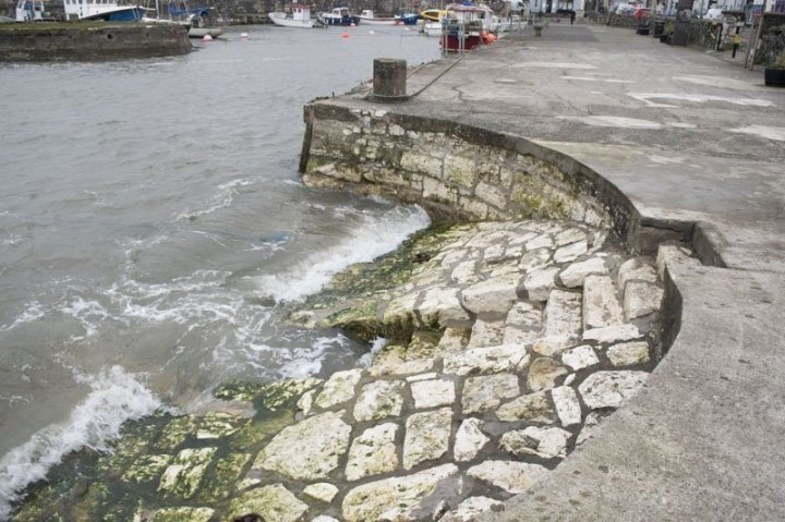 Carnlough Harbour Steps