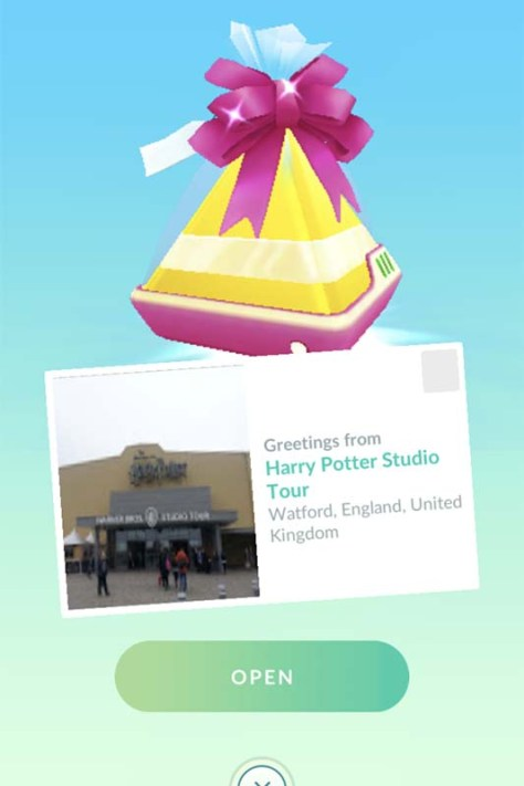 Pokemon Go Gifts