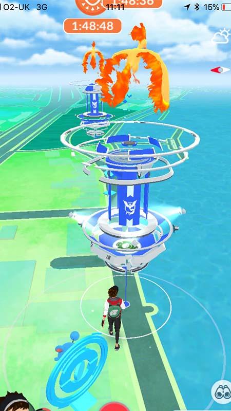Pokemon Go - Moltres Day