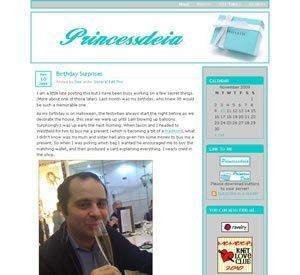 Screenshot of princessdeia in 2011