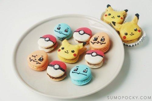 Pokémon Macarons
