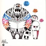 <h5>Squeeze, Big & Little</h5><p>Inktober 2016 - Dessin à l'encre et feutres couleurs</p>
