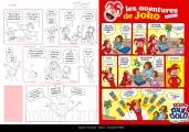 <h5>05-Les aventures de Joko. </h5><p>Pour les jus de fruits Joker & Bayard Presse, 2016. Scénario crayonné : PrincessH. Dessin final : Alexandre Franc.</p>