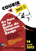 <h5>Affiche Cross Amnesty 2013.</h5><p>Pour le groupe Amnesty Paris-Jaurès, 2013. Conception graphique et illustrations : PrincessH.</p>