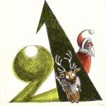 <h5>21 décembre 2015 : Rudolf</h5><p>Carnet de croquis, décembre 2015</p>