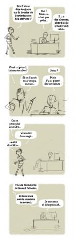 <h5>Absentéïsme et optimisation</h5><p>Pour le Conseil Général de l'Eure, 2013. scénario refusé.</p>