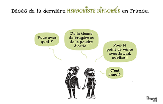La fin de l'Herboristerie en France