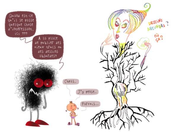 L'absurde Willow girl, PrincessH et le Black Blog