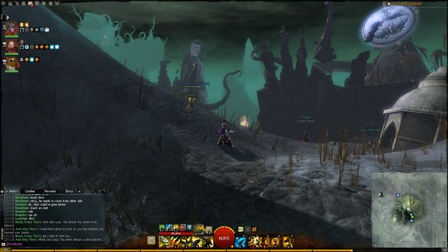 The Bloody Prince meets the Mad King Thorn in Guild Wars 2