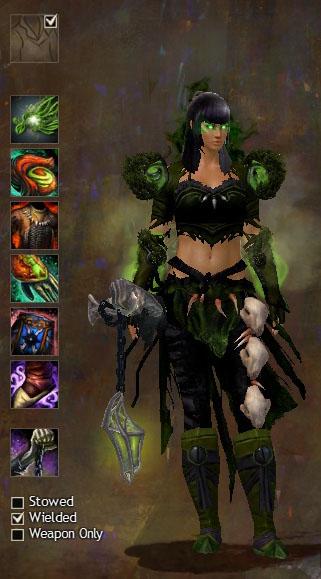 Guild Wars 2 Necromancer Wardrobe