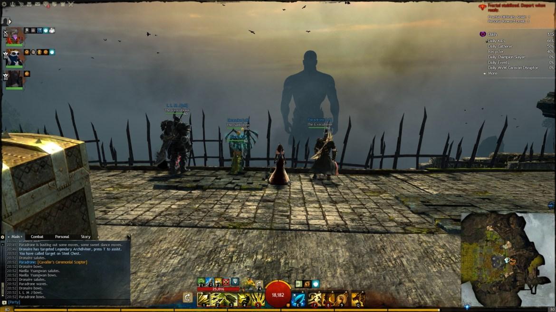 Guild Wars 2 - Fractals of the Mists - Cliffside Fractal