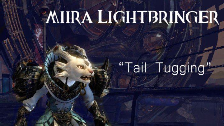 Guild Wars 2 - Fanfic - Tail Tugging