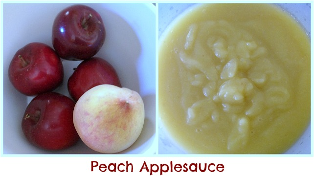 Peach Applesauce